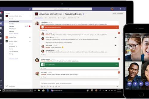 Microsoft challenges Slack with a free version of Microsoft Teams