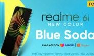 New Relme 6i Blue Soda color goes on sale