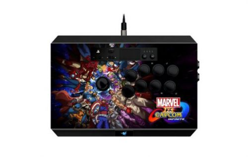Razer Marvel vs Capcom: Infinite Arcade Stick brings iconic artwork
