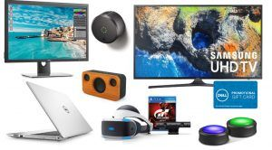 ET Deals Roundup: $600 Samsung 4K HDTV with Bonus $200 Gift Card and more