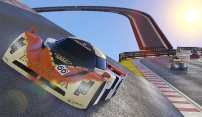 Grand Theft Auto Online's New Racing Mode Looks Like Old School GTA
