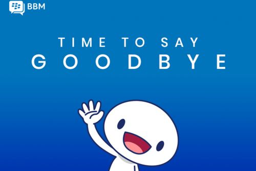 BlackBerry Messenger is shutting down on May 31st