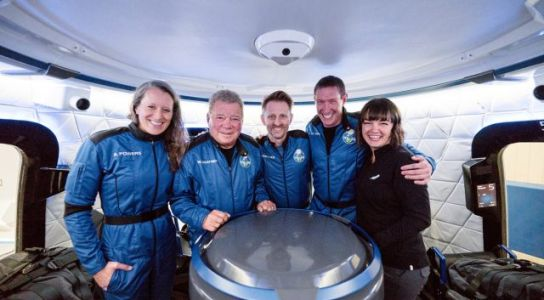 William Shatner Rides Blue Origin Rocket to Space and Back