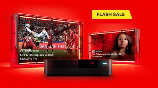 Get £150 bill credit in Virgin Media's latest broadband and TV flash sale