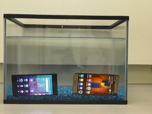 """P2I's """"Dunkable"""" Tech Makes ANY Phone 100% Waterproof"""
