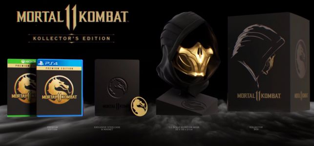 Mortal Kombat 11 Kollector's Edition Is Expensive, But Has A Scorpion Mask
