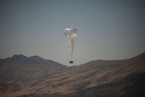 Alphabet's Loon balloons provide their first commercial internet service in Kenya