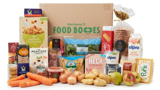 Morrisons launches vegan essentials food box for home delivery - now has something for everyone
