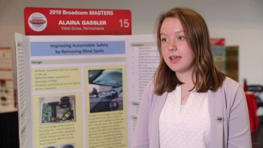 Alaina Gassler is an 8th Grader Who Designed a Way to Help Reduce Car Crashes