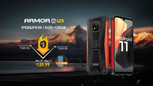 Buy The Ulefone Armor 8 Pro, Get The Ulefone Watch For Free