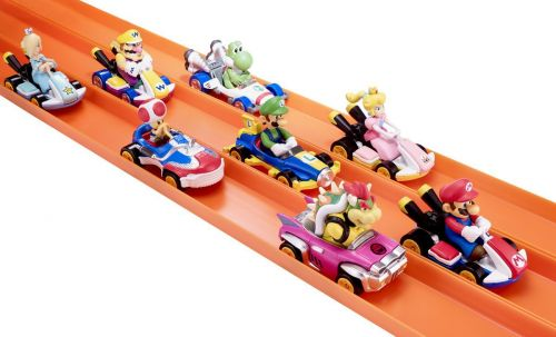 Comic-Con 2018: Mario Kart Hot Wheels Toys Debut At SDCC