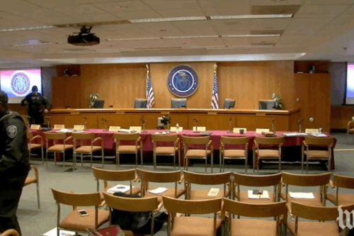 FCC evacuates during net neutrality vote 'on advice of security'