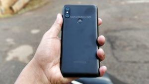 Leaked images of Motorola One Power surface online