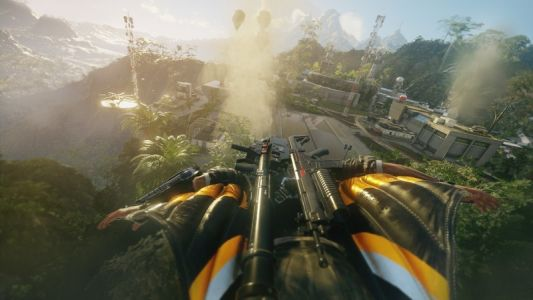 Watch 20 minutes of Xbox One X Just Cause 4 footage