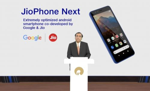 Google and Jio Platforms announce JioPhone Next, an affordable Android smartphone