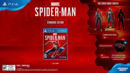 Spider-Man For PS4: Release Date / Pre-Order Guide