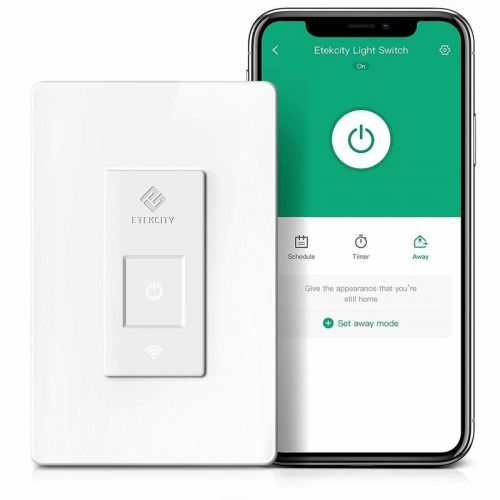 Etekcity's smart light switch let's you control lights with voice and touch