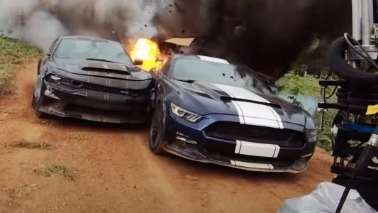 """F9: THE FAST SAGA """"Total Car-Nage"""" Featurette Shows Off the Crazy Car Stunts"""