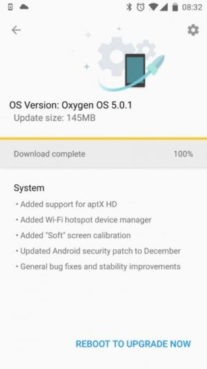 OxygenOS 5.0.1 System Image For OnePlus 3, 3T Now Available