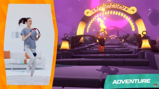 Nintendo Wants You to Work Out While Playing the Adventure Game RING FIT ADVENTURE