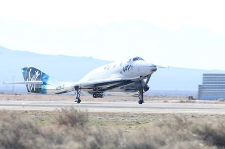 Virgin Galactic completes another test flight, this time with a passenger