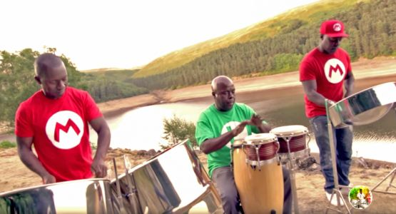 Video game theme music played on steel drums is our newest obsession
