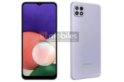 Samsung Galaxy A22 5G spotted in leaked renders: Cheapest 5G phone yet?