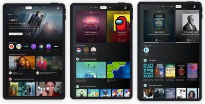 Google Entertainment Space for Android tablets puts books, games, and movies front and center