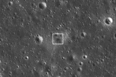 See the impact site where Beresheet crashed into the moon