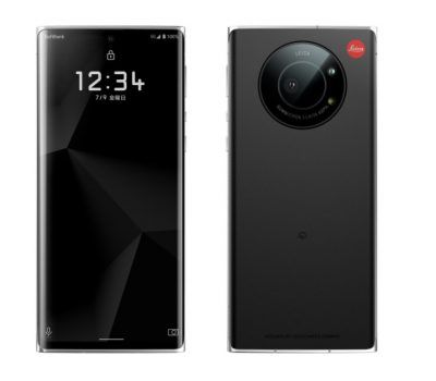 Leica launches its first smartphone in Japan (but it's really a re-branded Sharp Aquos R6)