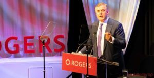 Rogers CEO sends strong signal to government regarding regulation that 'spurs growth'