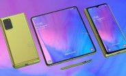 Galaxy Fold 2 rumor-based renders show a much cooler design