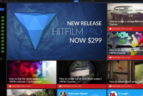 Hitfilm Express 2017 review: Powerful features lie behind a quirky interface