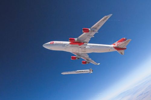 Small satellite launcher Virgin Orbit plans to fly its rocket for the first time this weekend