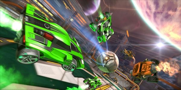Rocket League Is Getting An Xbox One X Upgrade