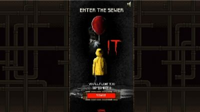 You Can Play A Free 8-Bit Tie-In Game To Stephen King's It Movie