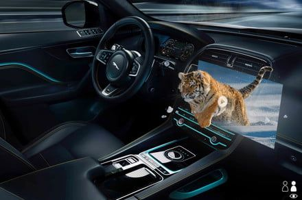 Jaguar Land Rover is developing this amazing 3D head-up display