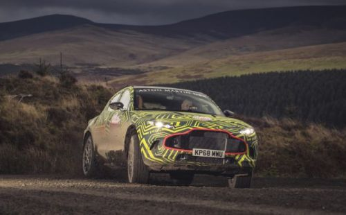 Aston Martin DBX SUV revealed as latest luxe truck