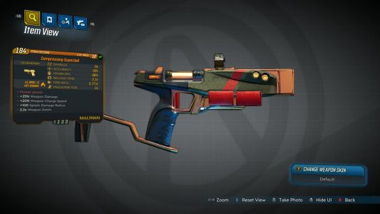 One Borderlands 3 Legendary Gun Lets You Become Mario