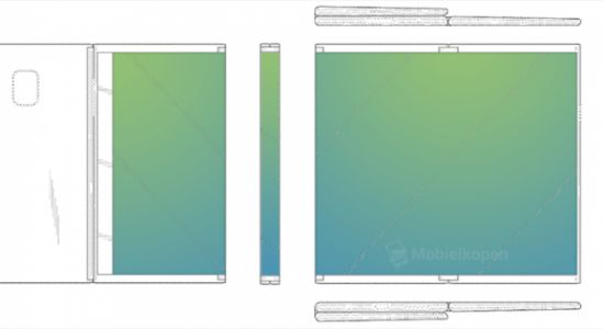 Samsung Patents Dual-Fold Display Design for Tablets