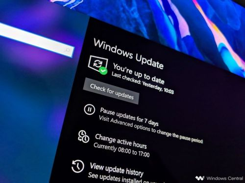 Latest Windows 10 Patch Tuesday update failing to install for some users