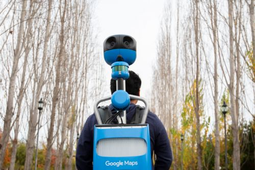 Google updated its Street View Trekker to look slightly less dorky