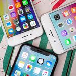 The iPhone X, 8 and 8 Plus sold harder in Q4 than their predecessors