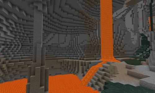 The latest Minecraft: Bedrock Edition beta adds lava aquifers and more