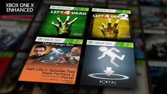 Half-Life 2, Portal, Left 4 Dead 1 & 2 Enhanced On Xbox One X