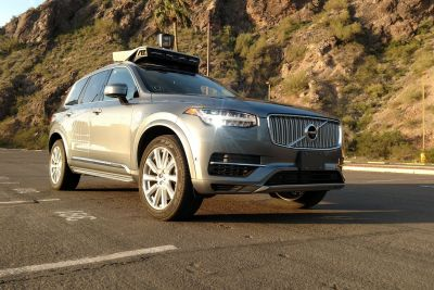 Uber's self-driving cars are back on the road after Arizona accident