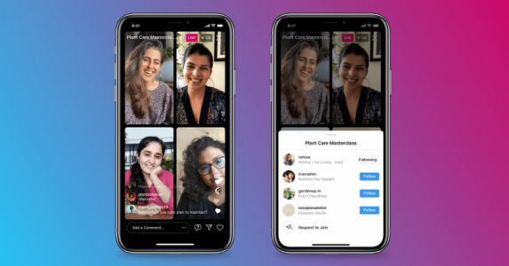 Instagram's new Live Rooms lets you go live with three other people - too bad you don't have any followers