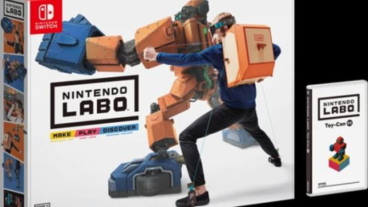 Nintendo Does DIY With Labo for Switch