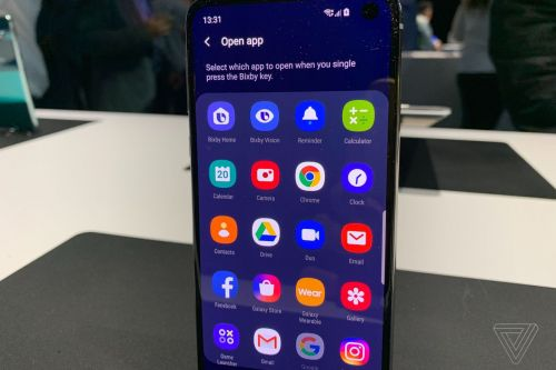 You can remap the Bixby button on Samsung's Galaxy S10 to do whatever you want