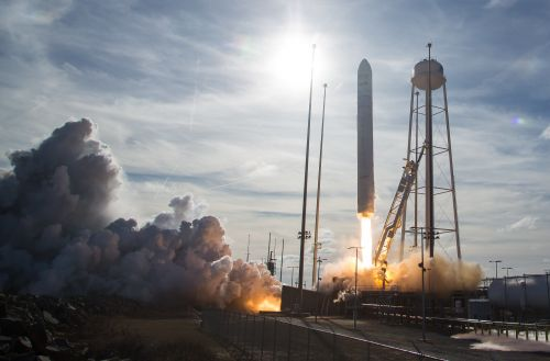 In photos: See the Antares rocket's Cygnus NG-13 cargo ship launch to space station